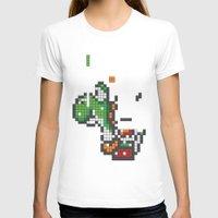 tetris T-shirts featuring Yoshi Tetris by Tombst0ne