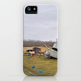 Bovine Junkyard iPhone Case