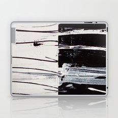 Black & White Close Up Laptop & iPad Skin