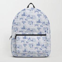 Winnipeg Summer Toile Backpack