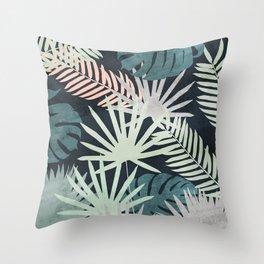 Tropicalia Night Throw Pillow