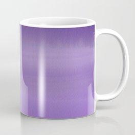 Modern painted purple lavender ombre watercolor Coffee Mug