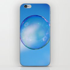 Single Floating Bubble iPhone & iPod Skin