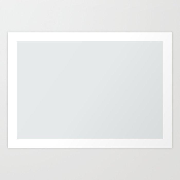Behr Swirling Water (Neutral Off White / Super Light Gray) PR-W10 Solid Color Kunstdrucke