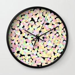 Marshmallow Allsorts Wall Clock