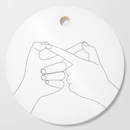 Together Forever Cutting Board