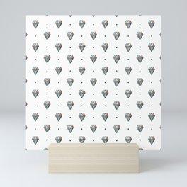Diamonds are forever Pattern 1 Mini Art Print
