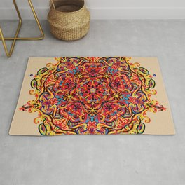 Wild life and fantasy Rug