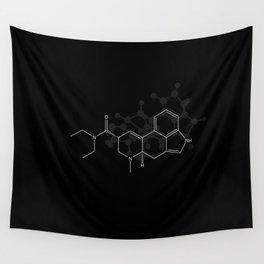LSD Molecule Wall Tapestry