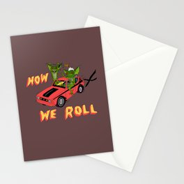 HOW WE ROLL Stationery Cards