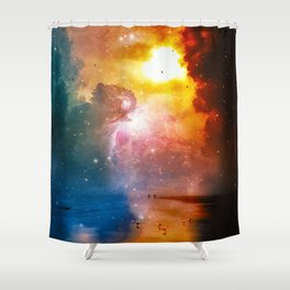 The Totality Of Existence Shower Curtain