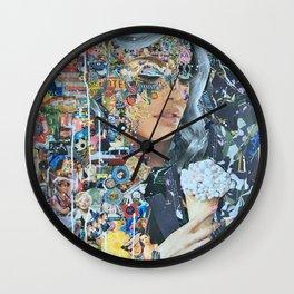 Precious Metals Wall Clock