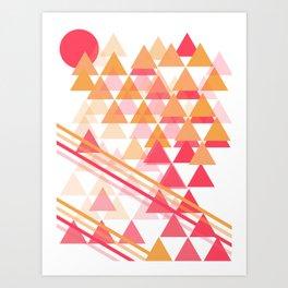 Sorbet Art Print