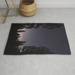 Starry Sunset | Nature and Landscape Photography Rug