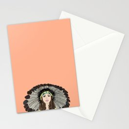 Southwest queen Stationery Cards