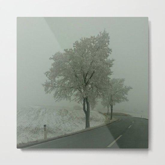 Winter Landscape - Austria Metal Print