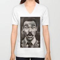 "gentleman V-neck T-shirts featuring Gentleman by ""CVogiatzi."