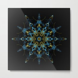 Divinity Mandala Metal Print