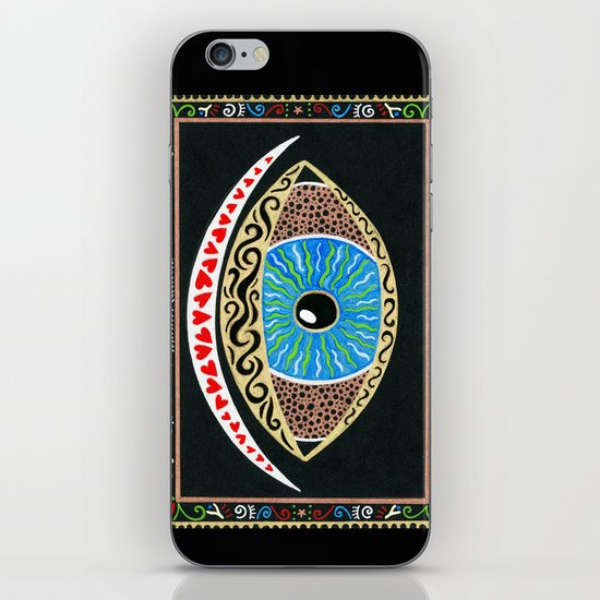 The eye sees all iPhone & iPod Skin