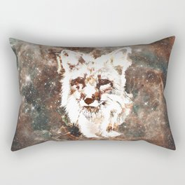 Space Fox no4 Rectangular Pillow
