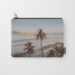 palm trees sunset ix Carry-All Pouch