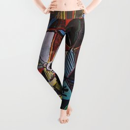 A roughly vectorised and reworked Picasso Leggings