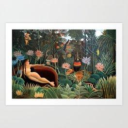 Henri Rousseau - The Dream Art Print