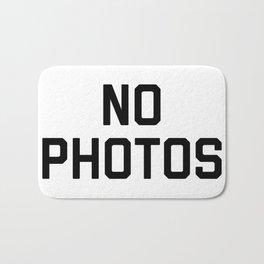 No Photos Bath Mat