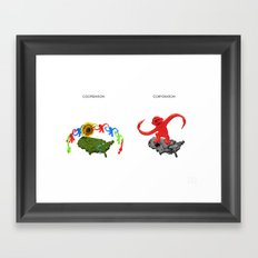 Cooperation Corporation Framed Art Print