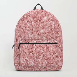 A Touch of Pink Glitter Backpack