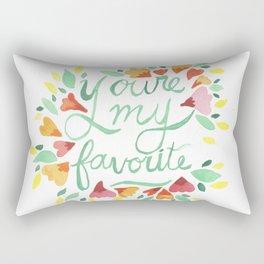 You're my Favorite Rectangular Pillow