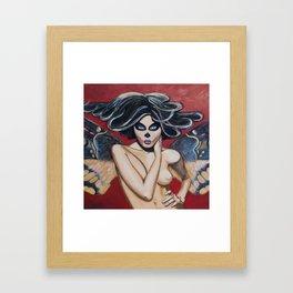 Look at me atropos Framed Art Print