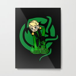 Green Lloyd Metal Print