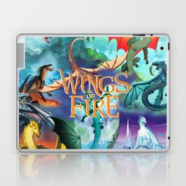 Wings Of Fire Painting Laptop & iPad Skin
