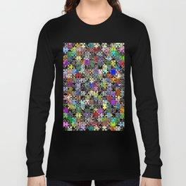 Jigsaw junkie Long Sleeve T-shirt
