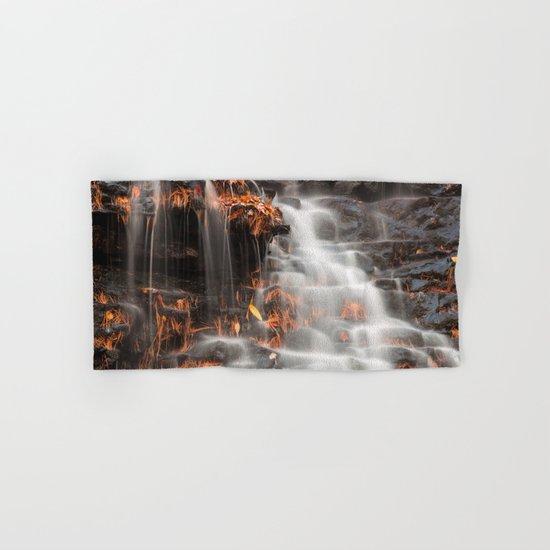 Shades of Death Waterfall Hand & Bath Towel