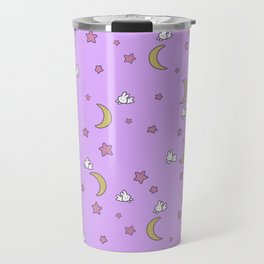 Cute Kawaii Fairy Kei Sailor Moon Bedspread Travel Mug