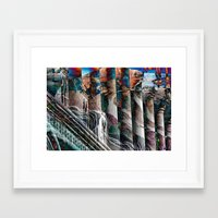 modern vampires of art history Framed Art Prints featuring History by Stephen Linhart