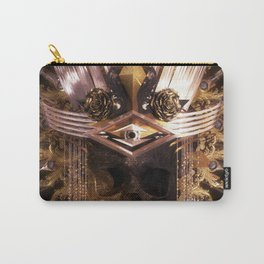 Art Deco Skull Headdress Day of the Dead Carry-All Pouch