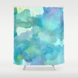 Breathing Under Water Shower Curtain