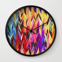 """burst of color"" Wall Clock"