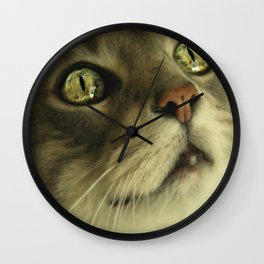 In His Eyes Wall Clock