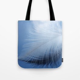 Feather in the clouds Tote Bag