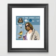 The Big Lebowski - The Dude Abides Framed Art Print