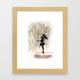 When It Rains, It Pours Framed Art Print