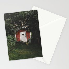 On the right path Stationery Cards