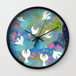 9 Ladies Dancing Wall Clock