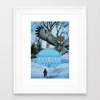predator Framed Art Prints featuring Predator by John Turck