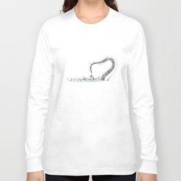 Uh Oh Eskimo Long Sleeve T-shirt