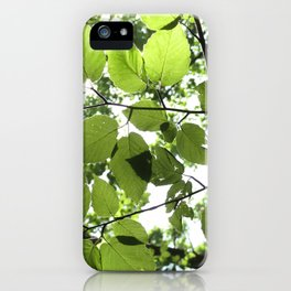 Where The Light Is iPhone Case
